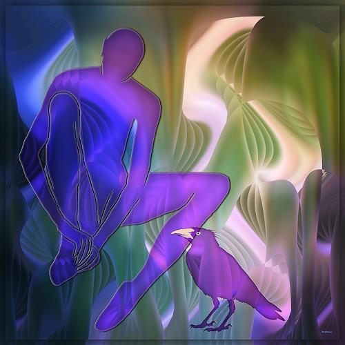 Dieter-Bruhns-Fantasy-Modern-Age-Abstract-Art-1